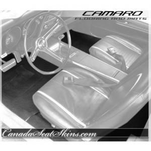 1971 - 1981 Chevrolet Camaro Custom Carpet and Floor Mats