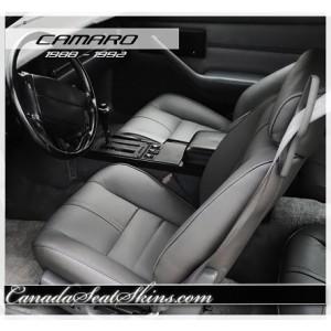 1988 - 1992 Camaro Z28 IROC Katzkin Leather Seats