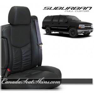 2000 - 2006 Chevrolet Suburban Katzkin Leather Seats
