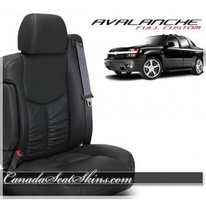 2002 - 2006 Chevrolet Avalanche Katzkin Leather Seats