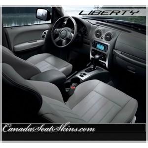 2002 - 2007 Jeep Liberty Katzkin Leather Seats