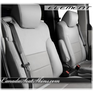 Honda Element Katzkin Grey Leather Seats