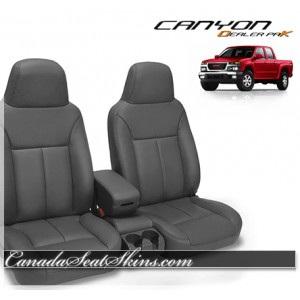 2004 - 2010 GMC Canyon Dealer Pak Leather Seat Kit
