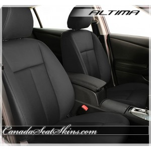 2007 - 2012 Nissan Altima Black Leather Seats