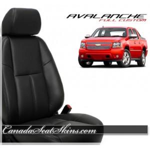 2007 - 2013 Chevrolet Avalanche Katzkin Leather Seats