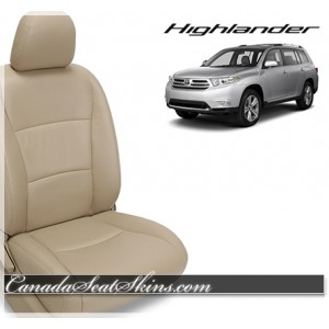 2008 - 2013 Toyota Highlander Custom Leather Upholstery