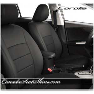 2009 - 2013 Toyota Corolla Black Leather Seats