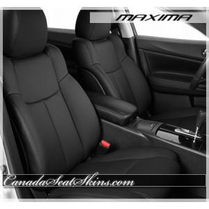 2009 - 2014 Nissan Maxima Black Leather Seats