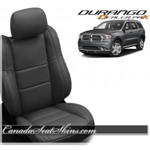 Dodge Durango Wholesale Leather Seat Covers Black