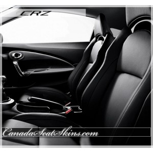 2011 - 2014 Honda CRZ Katzkin Black Leather Interior