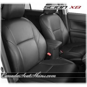 2011 - 2016 Scion XB Black Leather Seats