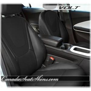 2011 - 2015 Chevrolet Volt Black Katzkin Leather Seats
