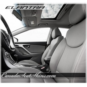 2011 - 2016 Hyunda Elantra Katzkin Leather Interiors