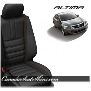 2013 - 2015 Nissan Altima Black Limited Leather Seats