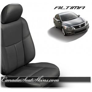 2013 - 2017 Nissan Altima Black Katzkin Leather Seats
