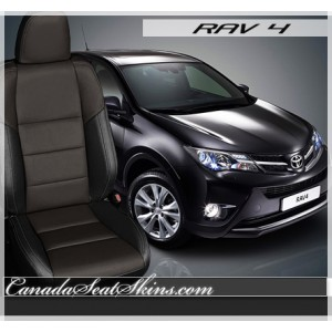 2013 - 2016 Rav 4 XLE Custom Leather Seats