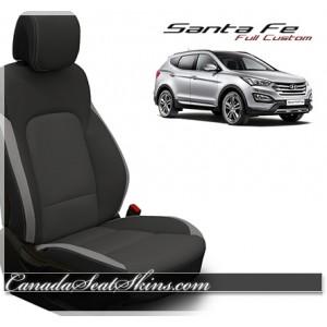 2013 - 2018 Hyundai Santa Fe Katzkin Custom Leather Seats