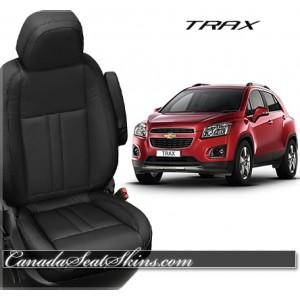 Chevrolet Trax Katzkin Black Leather Seats