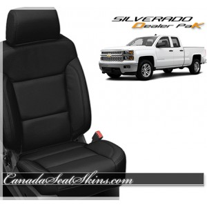 2014 - 2016 Chevrolet Silverado Dealer Pak Leather Seats