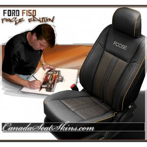 New 2015 - 2018 F150 Chip Foose Limited Edition Black Leather Seats