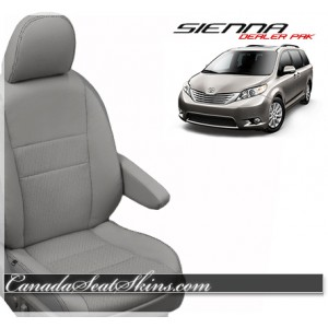 2015 - 2016 Toyota Sienna Katzkin Leather Seat Covers