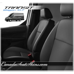 2015 - 2017 Ford Transit Wagon Katzkin Leather Seats