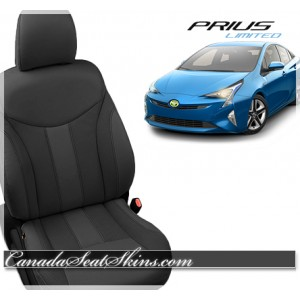 2014 - 2015 Toyota Prius Limited Edition Leather Interior Black