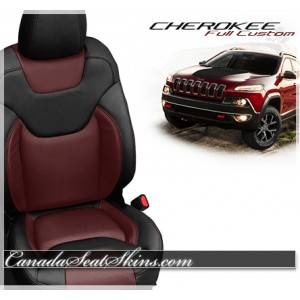 2014 - 2017 Jeep Cherokee Katzkin Leather Seats
