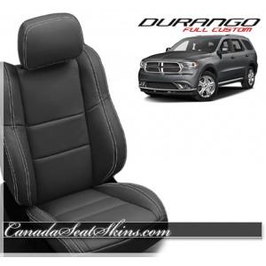2016 Dodge Durango Custom Katzkin Leather Seats