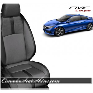 2016 Honda Civic Coupe Katzkin Leather Seats