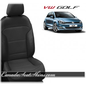 2015 - 2017 Volkswagen Golf Katzkin Leather Seats