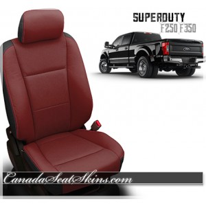 2017 - 2018 Ford F250 F350 Katzkin Custom Leather Seats