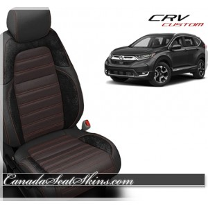 2017 - 2018 Honda CRV Katzkin Custom Leather Seats