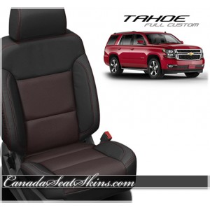 2015 - 2017 Chevrolet Tahoe Katzkin Custom Leather Seats