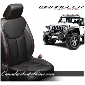 2013 - 2017 Jeep Wrangler Katzkin Custom Leather Seats