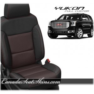 2015 - 2018 GMC Yukon Katzkin Custom Leather Seats