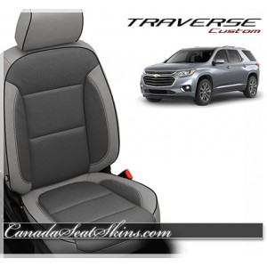 2018 Chevrolet Traverse Katzkin Custom Leather Interior