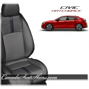 2017 - 2018 Honda Civic Hatchback Katzkin Leather Seats