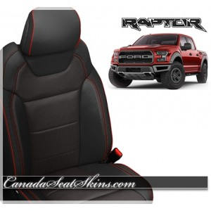 2017 - 2018 Ford SVT Raptor Katzkin Leather Seats