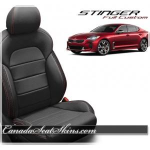 2018 - 2019 Kia Stinger Katzkin Custom Leather Seats