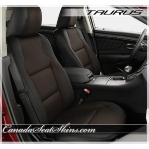 2010 - 2018 Ford Taurus Katzkin Coffee Leather Seats