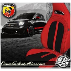 Fiat 500 Abarth Custom Leather Seats
