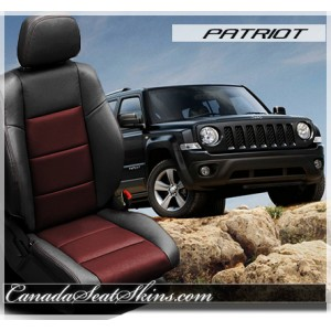 Jeep Patriot Katzkin Leather Seats Red