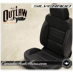 2014 - 2018 Silverado Katzkin Outlaw Limited Edition Leather Seats