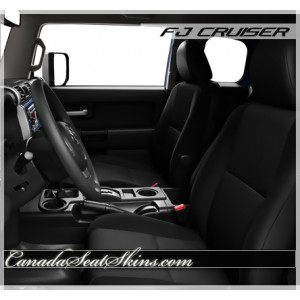 Toyota FJ Cruiser Custom Leather Upholstery
