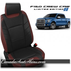 2015 - 2018 F150 Katzkin Limited Edition Leather Seats