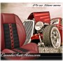 Sport XRS Hot Rod Seat in Wine Red with Black Suede