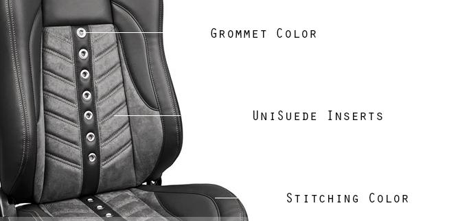 Hot Rod High Back VXR Bucket Seat Detail