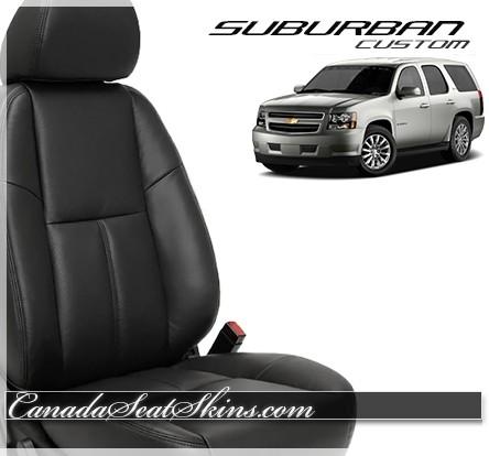 2007 - 2014 Chevrolet Suburban Katzkin Custom Leather Seats