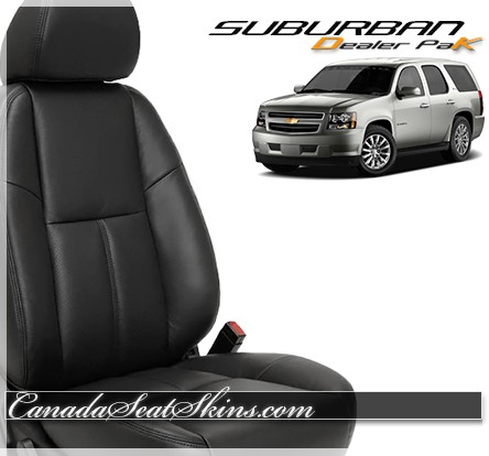 2007 - 2014 Chevrolet Suburban Leather Seats
